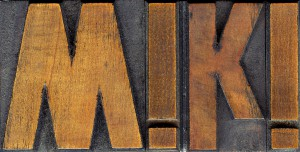 Lettern oder Drucktypen bzw. Typen sind Bestandteile einer Satzschrift aus Blei. Ihre Schriftkörper tragen am Kopf das erhabene, spiegelverkehrte Bild eines Schriftzeichens.