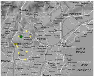 Abbildung 10 Verortungen des Stimulus Sp02_74m durch die heteroperzeptive Informantengruppe