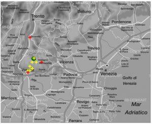Abbildung 12 Verortungen des Stimulus Sp03_33m durch die autoperzeptive Informantengruppe