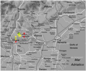 Abbildung 16 Verortungen des Stimulus Sp04_23m durch die autoperzeptive Informantengruppe