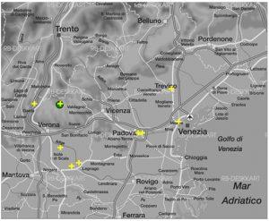 Abbildung 19 Verortungen des Stimulus Sp04_23m durch die heteroperzeptive Informantengruppe